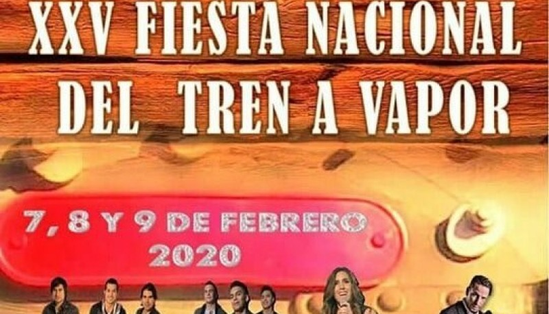Fiesta Nacional del Tren a Vapor.