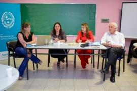 Alicia en el encuentro provincial de Directores de Hospitales