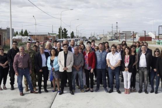 Funcionarios de Santa Cruz.