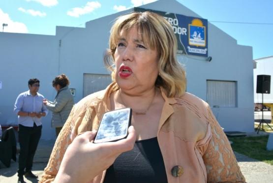 Cristina Aranda, directora de Comercio de la Municipalidad de Río Gallegos (Foto: C. Robledo).