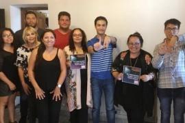 """Derechos Humanos recibió a la """"Liga  Asperger Chubut"""""""