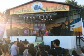 El Gobierno chubutense acompañó la XXXII Fiesta Provincial del Calafate