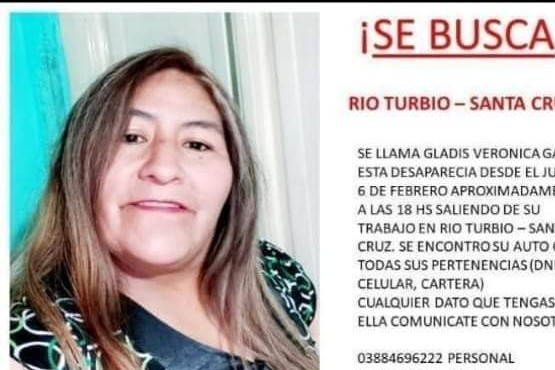 Gladis Verónica Gaspar está siendo buscada por familiares.