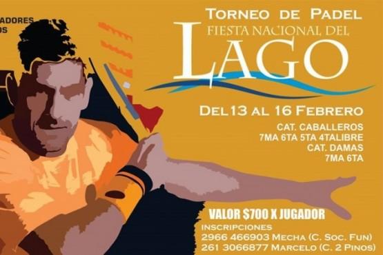 Torneo en la Fiesta del Lago.