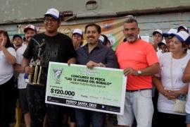 González destacó la exitosa concurrencia de más de 10 mil personas en la Fiesta del Róbalo