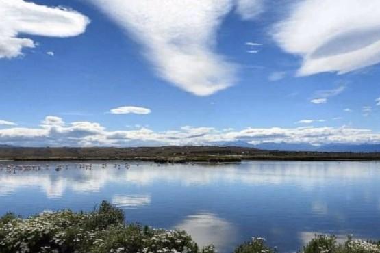 Reserva natural Laguna Nimez a orillas del Lago Argentino
