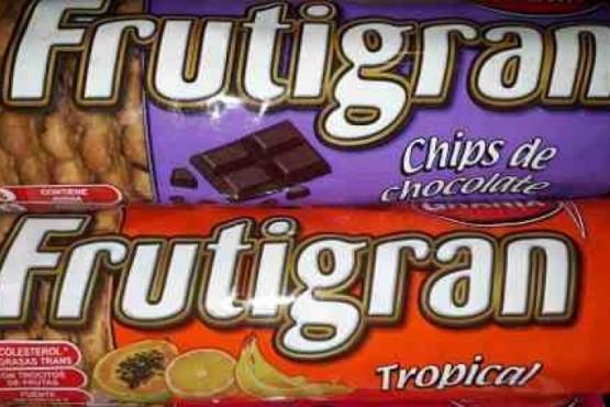 Paquetes de Frutigran.