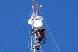Vialidad Nacional cuenta con la primera estación meteorológica