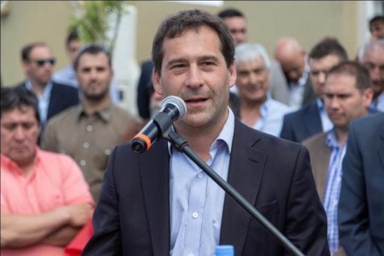 El intendente de Comodoro Rivadavia, Juan Pablo Luque.