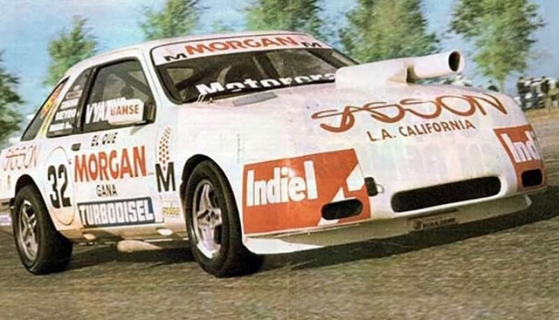 El Sierra campeón en 1985.