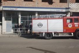 Principio de incendio en Banco del Chubut