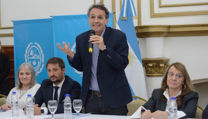 El Ministro de Obras Públicas, Gabriel Katopodis.
