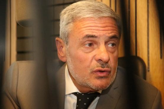 El Dr. Alejandro Baldini en Tiempo FM (Foto C. Gonzalez)