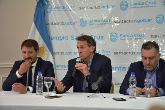 Leandro Zuliani, Gabriel Katopodis y Leonardo Álvarez (Foto: C.Robledo)..