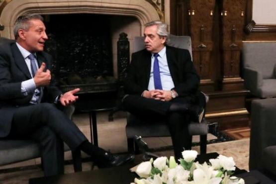 Alberto Fernández y Mariano Arcioni.