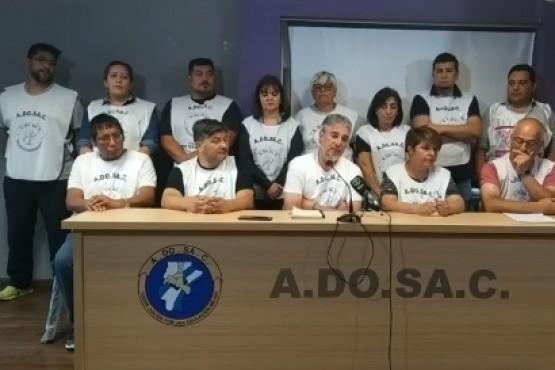 Conferencia de prensa de ADOSAC.