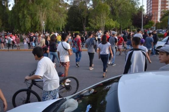 Masiva pelea de jóvenes tuvo intervención del Municipio
