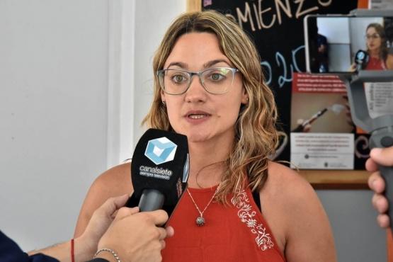 Jefa de las Residencias Interdisciplinarias de Salud Mental Comunitaria (RISMC) -sede Puerto Madryn-, Berenice Wouters.