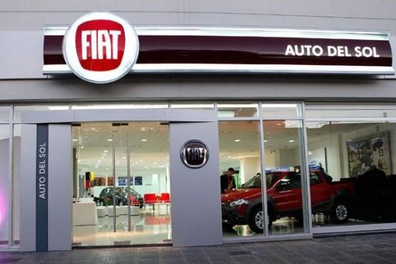 Intento de robo en concesionaria Fiat