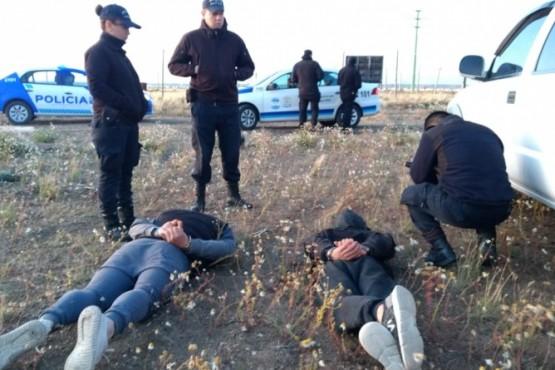 Dos hombres detenidos tras robar un alambrado