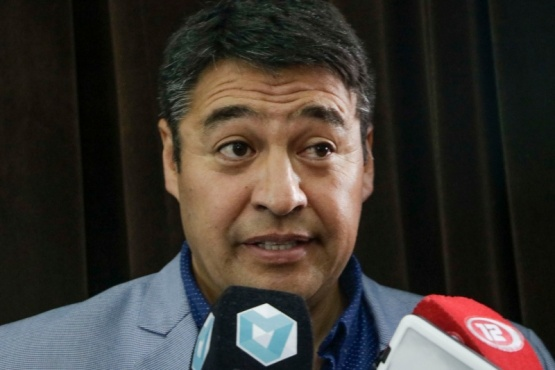 El intendente, Mario Pichiñán.