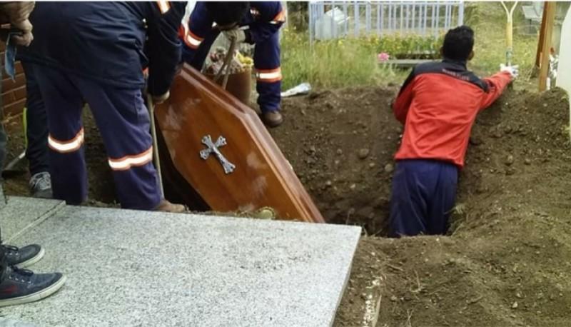 Cementerio de Rìo Gallegos.