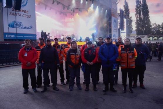 Importante labor de Protección Civil en la 8° Fiesta del Lago