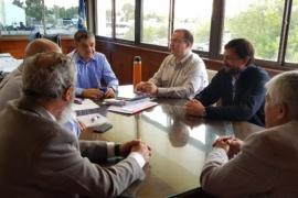 Aguilera se reunió con los Intendentes de Trevelin y El Maitén