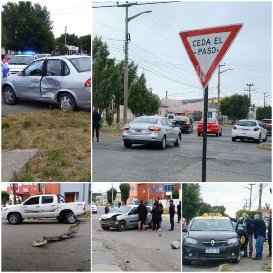 Los vehículos involucrados en ambos siniestros (Fotos F.C.)