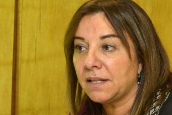 La presidenta del CPE, María Cecilia Velázquez