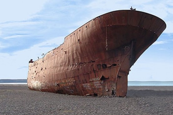 El barco noruego