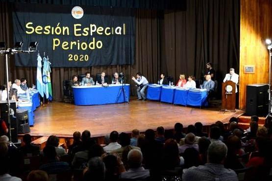 El discurso en la apertura de sesiones del Concejo Deliberante
