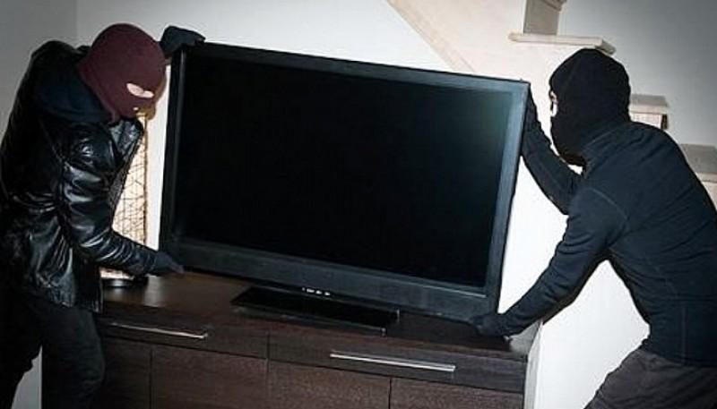 Roban un televisor. (Imagen ilustrativa)