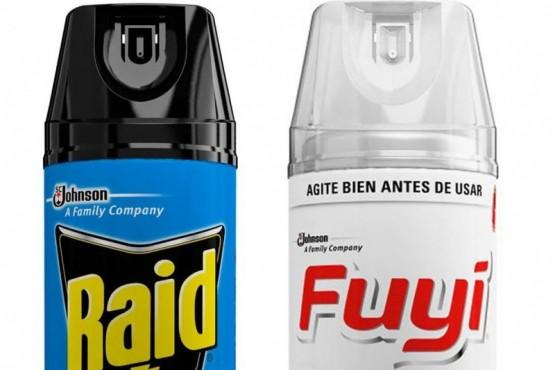 Los insecticidas que fueron sacados del mercado por ANMAT.