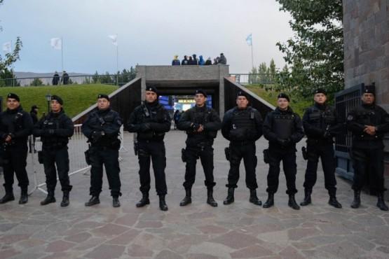 Operativos de seguridad en la 8ª Fiesta Nacional del Lago