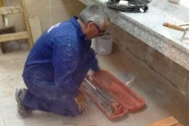 Obras Públicas trabaja en la reparación de las escuelas