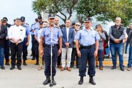Gómez encabezó la asunción del nuevo Jefe de la Unidad Regional