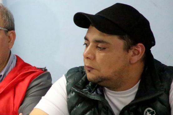 Damián Quinteros, secretario general de la Central Sindical de Zona Sur.