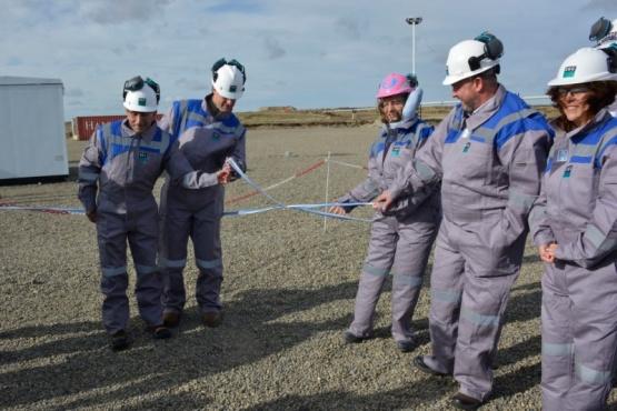 Alicia inauguró el proyecto de Almacenamiento subterráneo de Gas Natural de CGC