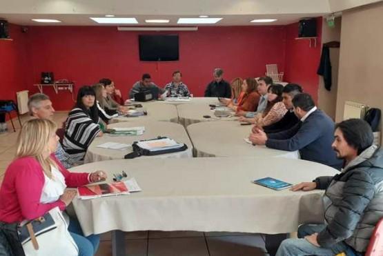 ATE fue parte de la mesa de negociación con el Ejecutivo provincial.