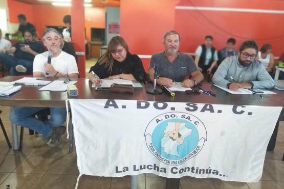 Los congresales de ADOSAC expusieron sus solicitudes.
