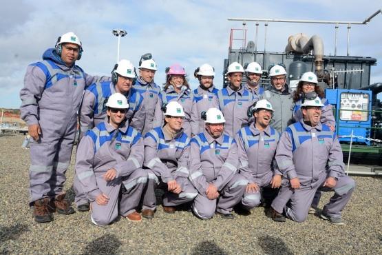 Inauguración del Almacenamiento Subterráneo de Gas Natural.