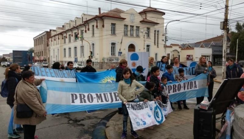 Organización Pro Vida en Río Gallegos.
