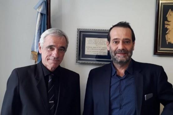 Los jueces del superior tribunal Panizzi y Vivas.