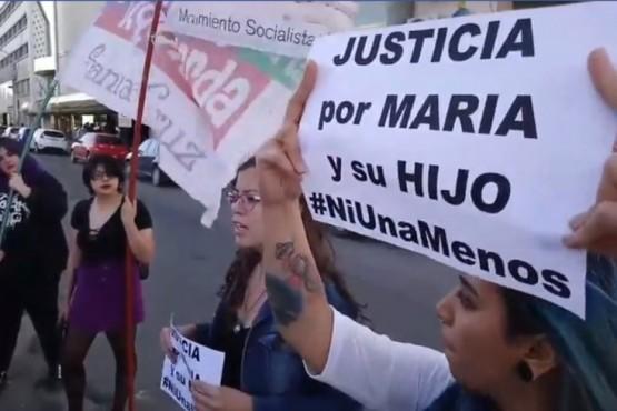 En Río Gallegos también pidieron justicia por María y su hijo asesinado en Puerto Deseado.