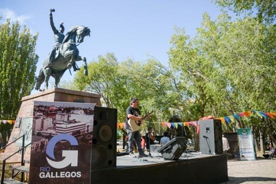 Música en la Plaza San Martín. (F.C)