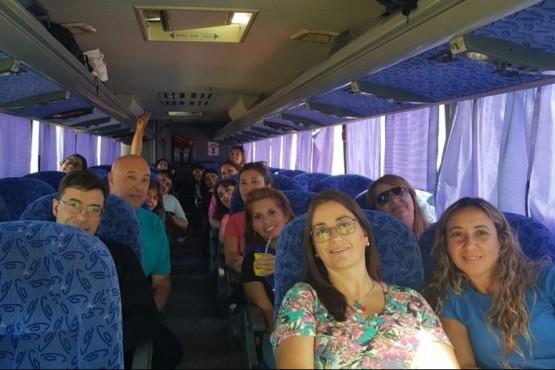Una delegación de maestros participan del Primer Encuentro Federal de Docentes