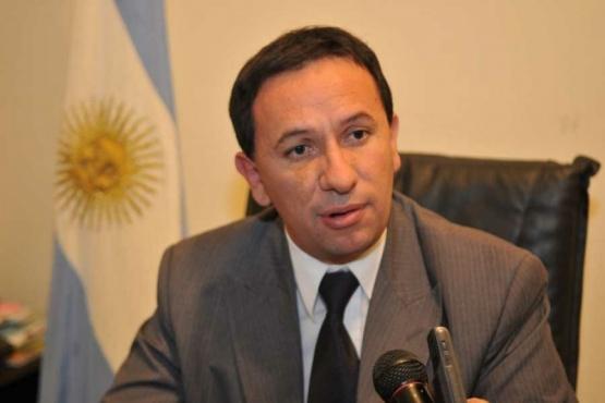 El intendente de Trelew, Adrián Maderna.