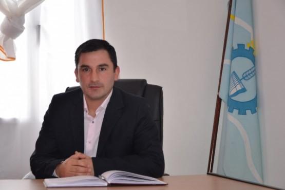 Sergio Núñez, presidente de la comuna rural de Carrenleufú.