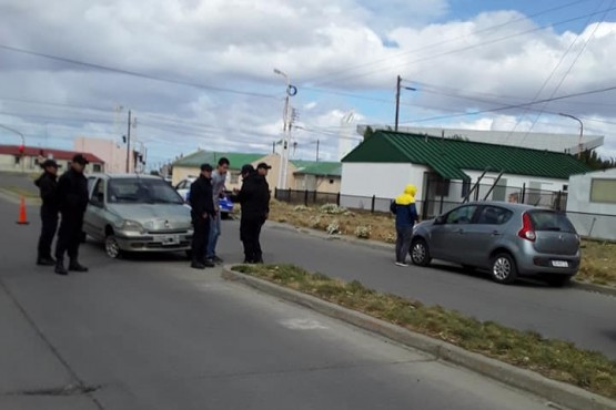 Accidente de tránsito. (Redes sociales)